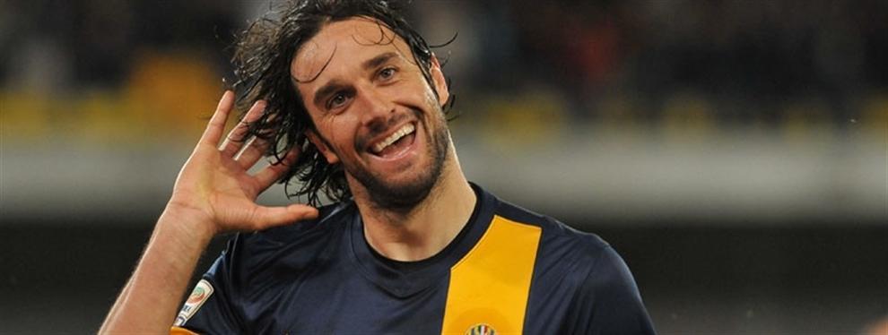 Otro grande que se va; adiós Luca Toni.