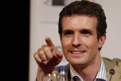 """Pablo Casado: """"C's no es nuestro adversario... de Pedro Sánchez no quedarán ni las raspas"""""""