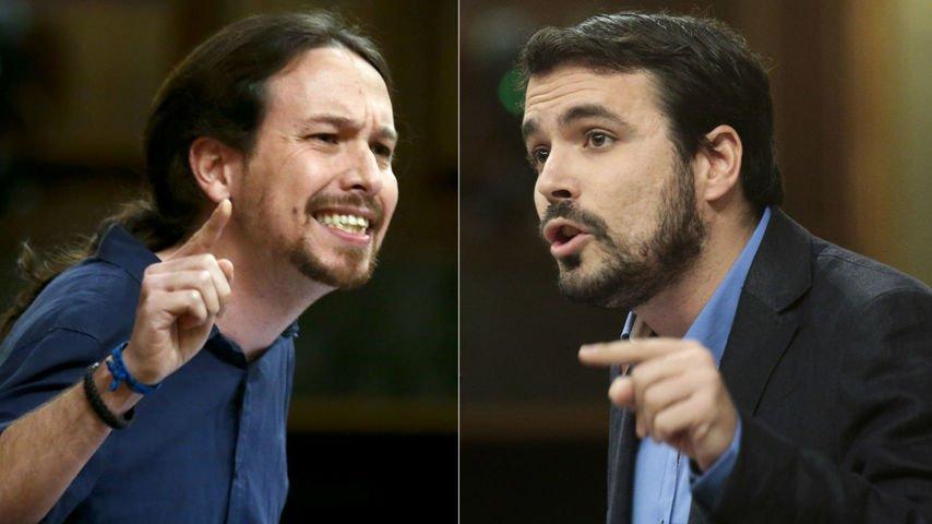 Alberto Garzón aceptaría ir quinto en la lista de Podemos, si Pablo Iglesias paga la deuda de IU