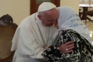 El Papa Francisco recibió a Hebe de Bonafini, presidente de las Madres de Plaza de Mayo