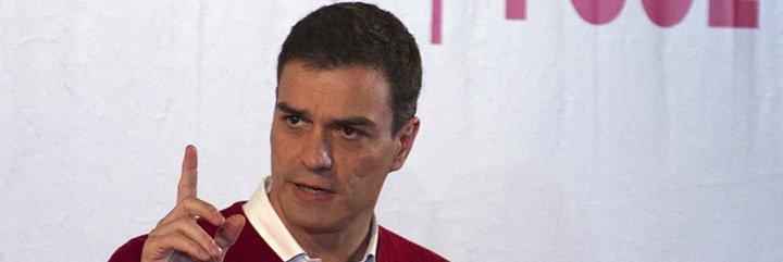 Pedro Sánchez escenifica este domingo su desesperada llamada a la unidad