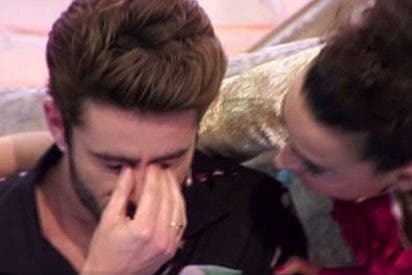 Pelayo Díaz rompe a llorar en pleno programa... ¿Recordando qué?