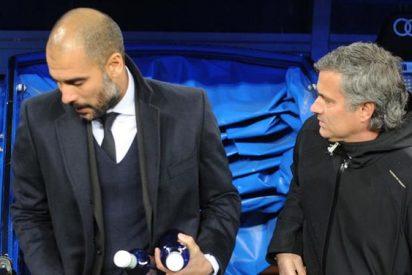 Pep Guardiola y José Mourinho ya tuvieron su primer cruce en Manchester