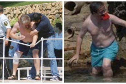 Absueltos los once separatistas que se metieron en la piscina ilegal de Pedrojota Ramírez en Mallorca