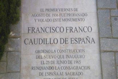 La alcaldesa de Getafe pide al obispo que retire una placa franquista del Cerro de los Ángeles