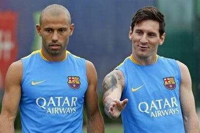 Por pedido de Messi, el Barça se bajó los pantalones por Mascherano