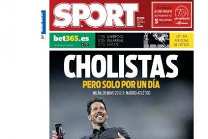"""Sonrojo en Twitter con la última 'atrocidad' de Sport: """"Cholistas, pero solo por un día"""""""