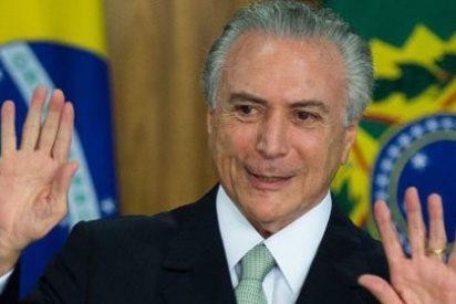 Michele Temer asume la presidencia de Brasil y lanza un dramático mensaje para calmar a los mercados