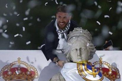 El Real Madrid brinda la undécima Copa de Europa a los hinchas reunidos en Cibeles