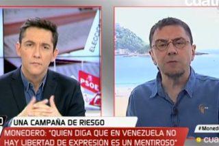 Monedero explota con el verdadero ideario de Podemos comparando a Leopoldo López con Tejero o un etarra