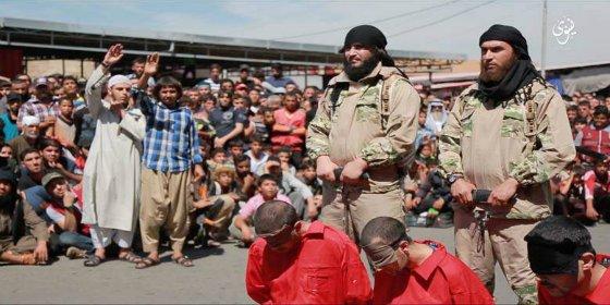 Los 5 voluntarios de entre el público que revientan la cabeza a unos 'apóstatas' iraquíes
