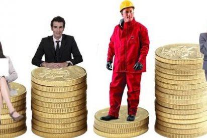 El salario medio español es un 17,8% inferior al salario medio de la Unión Europea