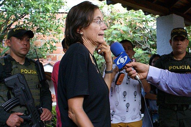 La Iglesia colombiana medió en la liberación de la periodista española