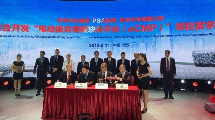 PSA y Dongfen avanzan en su asociación estratégica