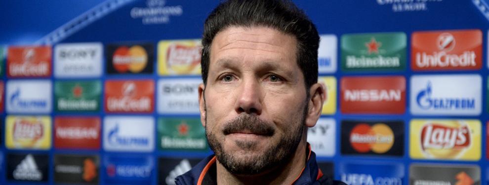 Simeone ya piensa en los refuerzos en caso de ganar la Champions