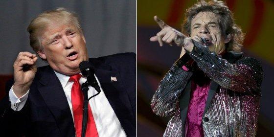 Los Rolling Stones piden a Trump que deje de dar el cante con sus temas