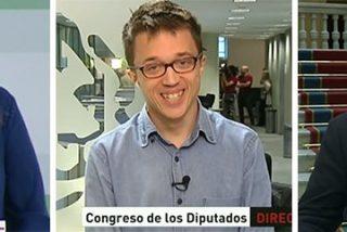 """Errejón 'se parte de risa' con los ataques de Susana Díaz y Llamazares por querer ahora a IU: """"¡Hablan como el PP!"""""""