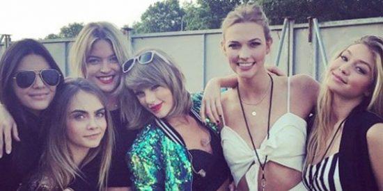 Un troll en Twitter amenaza de muerte a Taylor Swift y su pandilla