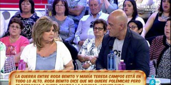 """Kiko Matamoros destapa toda la hipocresía de Terelu Campos: """"¡No defiendes ni a tu madre!"""""""