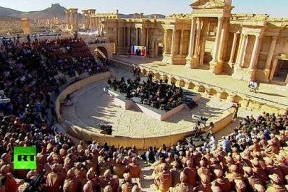 La histórica Palmira celebra la victoria frente a los fanáticos del ISIS con el concierto de una orquesta rusa