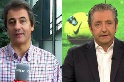 """Manolo Lama acusa de 'tramposo' a Pedrerol y califica como """"un pedo"""" a la audiencia del 'Chiringuito'"""
