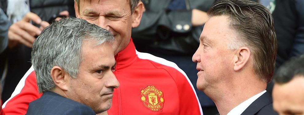 Van Gaal desafía al United: no piensa dejar que Mourinho le suplante