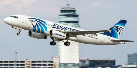 La inquietante foto que publicó la azafata del A320 de Egyptair