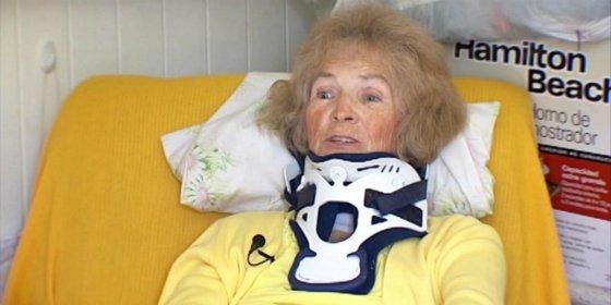 La señora se pasa 20 años ciega y recupera la vista de golpe y porrazo
