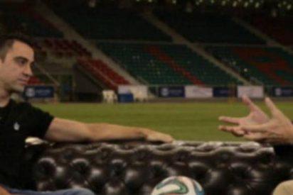 Xavi Hernández no descansa y vuelve a la carga contra Cristiano Ronaldo