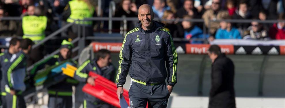 Zinedine Zidane acuerda los cuatro primeros fichajes para el Real Madrid