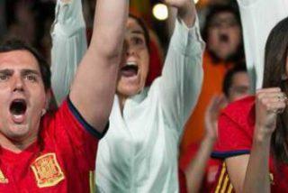 La Roja golea a Ada Colau