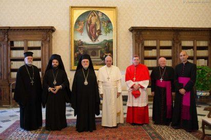 """Francisco: """"Católicos y ortodoxos, tenemos una responsabilidad común hacia los necesitados"""""""