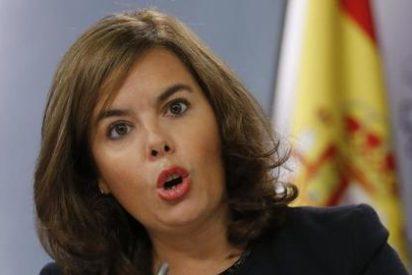 """Soraya Sáenz de Santamaría: """"Al PP le salen las cuentas para bajar impuestos y reducir déficit"""""""