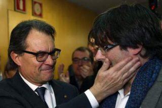 """Carles Puigdemont asegura ante empresarios que la CUP no tiene """"ninguna influencia"""" en el Gobierno catalán"""