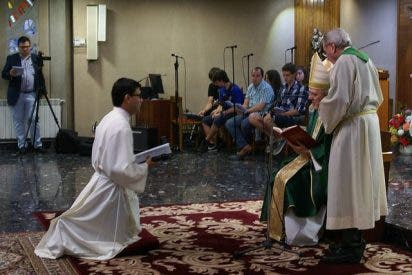 Osoro ordena diácono a un religioso camilo
