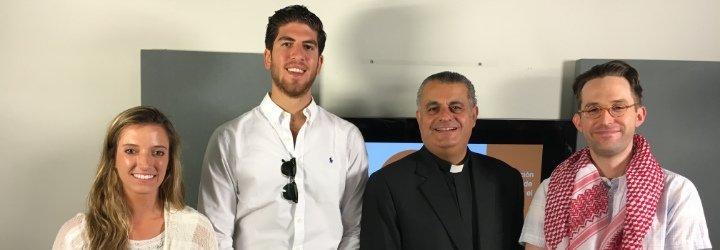 """Padre Rifat Bader: """"En Jordania hemos dado la bienvenida a más de un millón de refugiados"""""""
