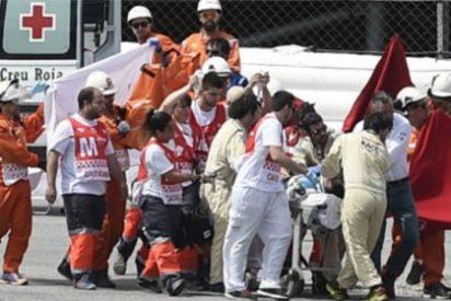 El piloto mallorquín Luis Salom (Moto2) se mata en Montmeló