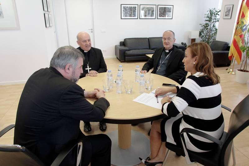 Los obispos de Aragón demandan al Gobierno