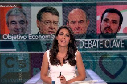 De Guindos (PP) da un baño a Sevilla (PSOE), guiños a Garicano (C's) y muchos palos a Garzón (IU) en el debate económico 26-J