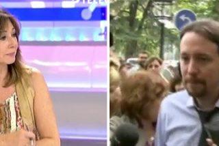 """Ana Rosa Quintana machaca al podemita jefe: """"No puede entrar como una estrella de rock al Ritz sin decir 'buenos días' a los periodistas siquiera"""""""