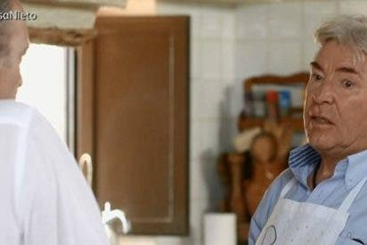 El sorprendente mal rollo entre Ángel Nieto y su sobrino Fonsi ante Bertín Osborne