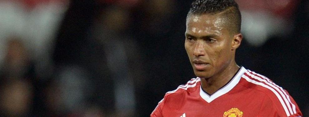 Antonio Valencia podría tener los días contados en el United