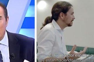 Antonio Jiménez, hastiado con la campaña audiovisual en favor de Pablo Iglesias:
