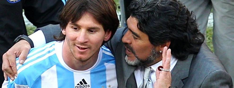 Así ha reaccionado Messi tras la rajada de Maradona a Pelé contra él