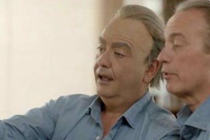 """La hilarante y ventajista entrevista de Bertín Osborne a sí mismo: """"No soy feliz"""""""