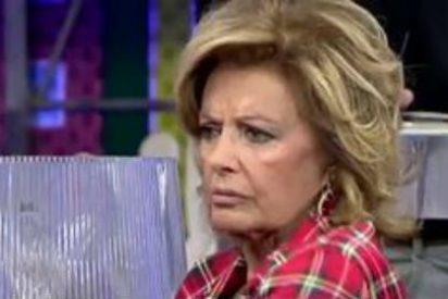"""María Teresa Campos: """"Estoy bien; solo fue un cólico algo molesto en la vesícula"""""""