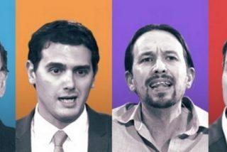 Rajoy y Rivera le bajan los humos a Iglesias ante un Sánchez lamentable
