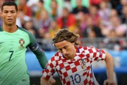Cristiano Ronaldo sigue en la Eurocopa 2016 y Luka Modric se va a casa: Portugal 1- Croacia 0