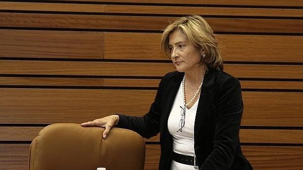 """Carmen Luis Heras pide la baja en el PP """"pillada"""" en """"los papeles de Panamá"""""""