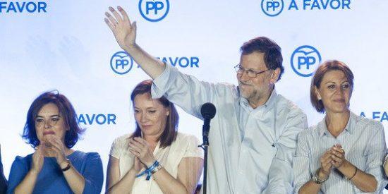 El PP ganó este 26-J en todas las CCAA salvo en Cataluña y País Vasco